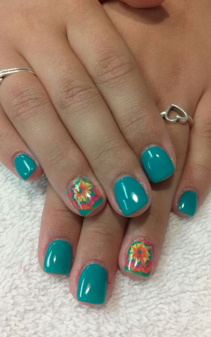 Best 25+ Tie dye nails ideas on Pinterest | Hippie nail ...