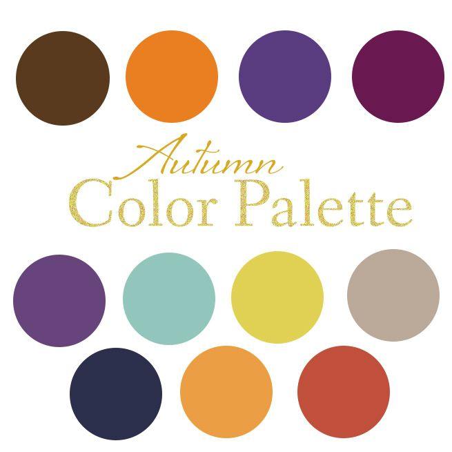 Fall Table Scape + Color Palette