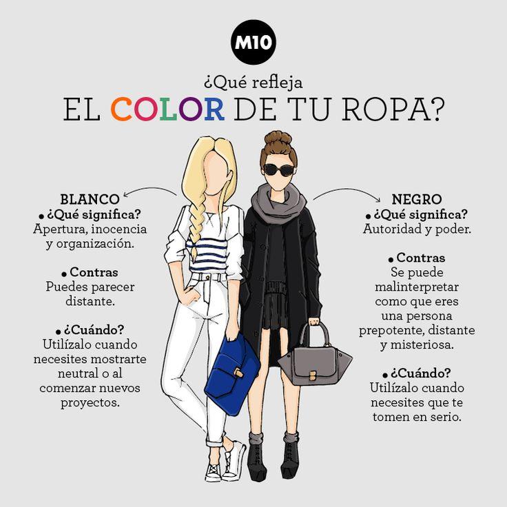 ¿Qué refleja el color de tu ropa?