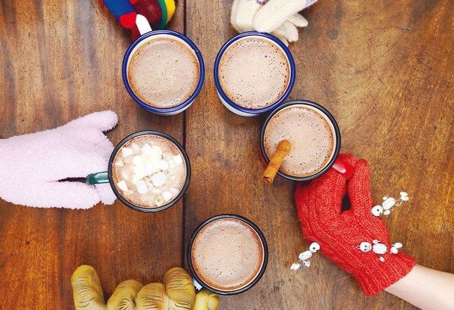 This hot chocolate recipe is a perfect winter warmer, or you can try any of the four other variations