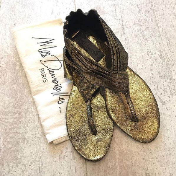 Khephren Summer Sandals - Mes Demoiselles at www.bohochic.co.uk