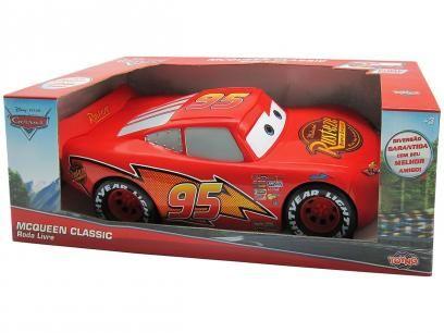 Carro Disney Relâmpago McQueen - Toyng com as melhores condições você encontra no Magazine Edmilson07. Confira!