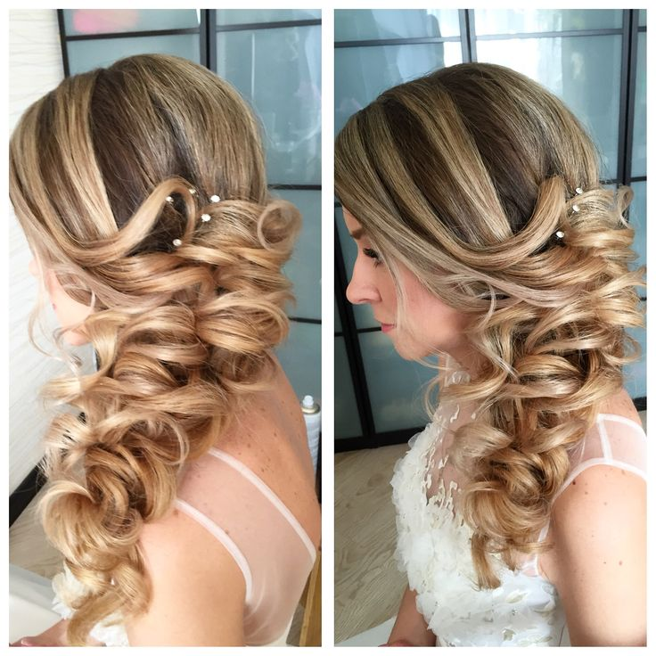 116 best Side Swept Hairstyles images on Pinterest | Bridal ...