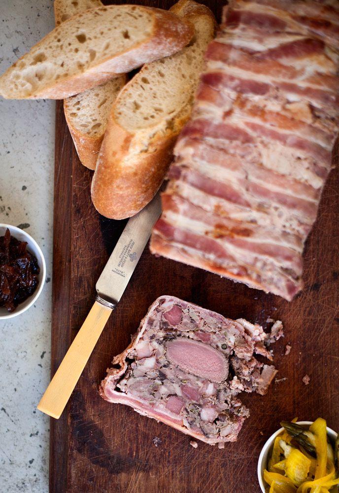 Pork and Venison Terrine with Onion Confit.
