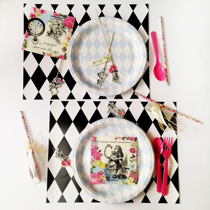 alice in wonderland tea party kit #littlelulubel