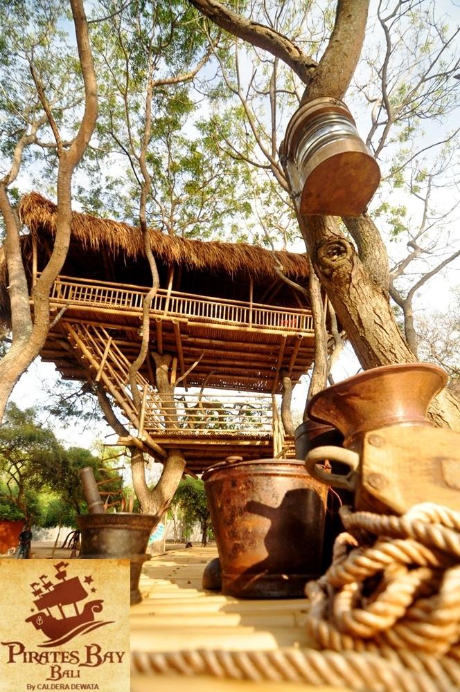 Tree House  The Pirates Bay Nusa Dua Bali - Indonesia