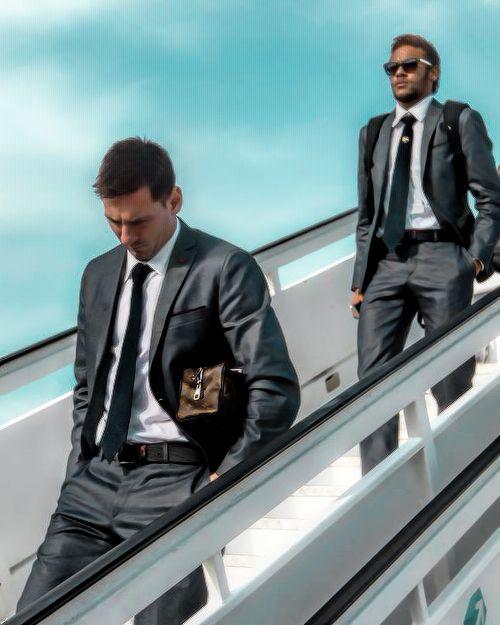 Messi - Neymar Jr. Cool