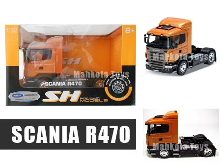 Diecast miniatur Truck Truk Scania R470