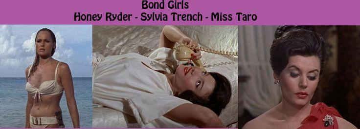 Dr. No / Bond Girls - Ursula Andress Eunice Gayson Zena Marshall