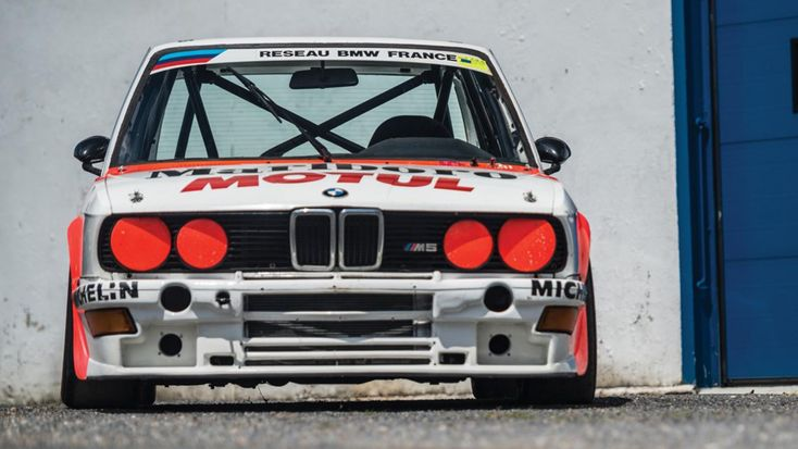 If you're extremely rich and searching for a track toy, look no further. This 460bhp 1985 BMW M5 E28 is just about as good as they come!