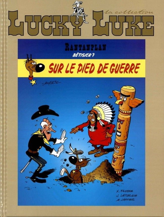 Lucky Luke - La collection (Hachette) -91- Rantanplan - Sur le pied de guerre (Bêtisier 7)