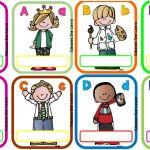 Gafetes | Material Educativo