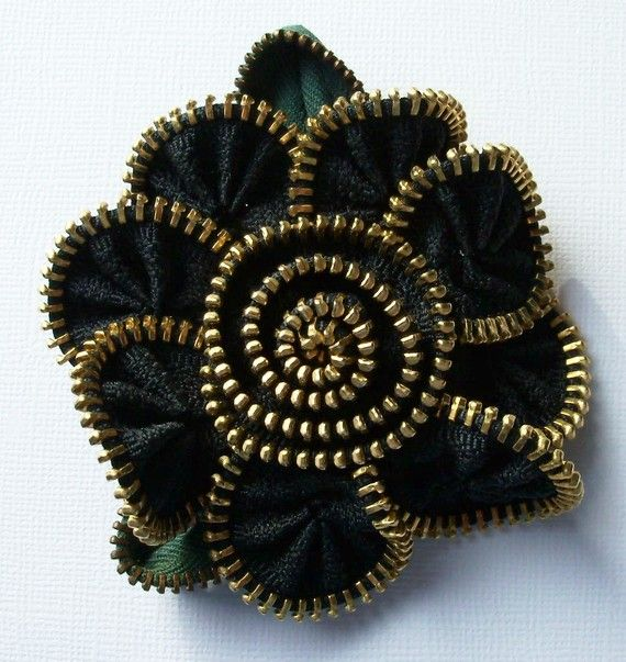 joyas astuta de cremalleras | hacer a mano, ganchillo,