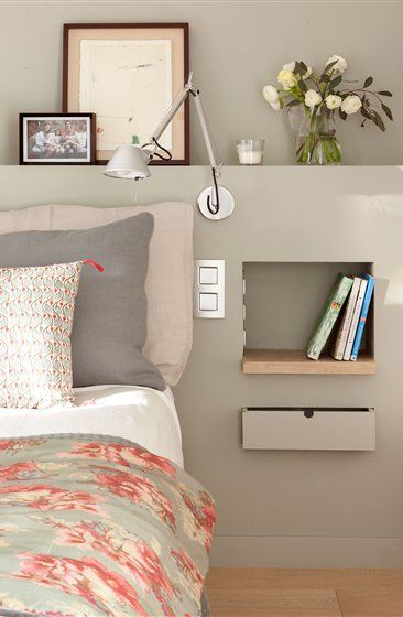 1000 ideas sobre habitaciones juveniles peque as en for Cuarto tumblr con luces