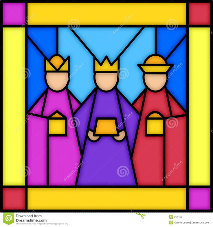 abstract stained glass panel | of a square stained glass panel with three kings...see matching panels ...