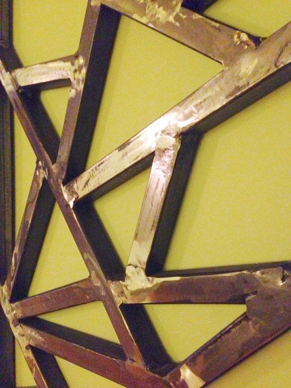 Geometric Metal Wall Art 88 best wall art inspiration images on pinterest | art