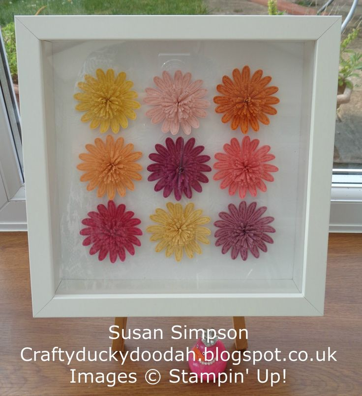 Craftyduckydoodah!, Daisy Delight, Daisy Punch, Stampin' Up! UK Independent Demonstrator Susan Simpson, Supplies available 24/7 from my online store,