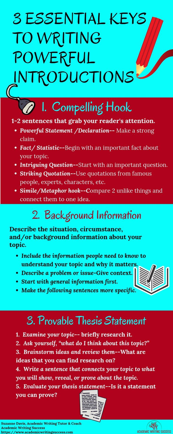 How To Write A Strong Introduction To A Research Paper Academic Writing Success Academic Writing Writing Introductions Writing A Thesis Statement