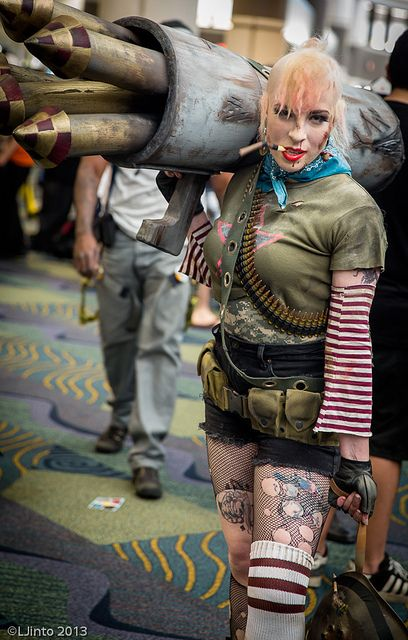 Tank Girl | Megacon 2013. View more EPIC cosplay at http://pinterest.com/SuburbanFandom/cosplay/...