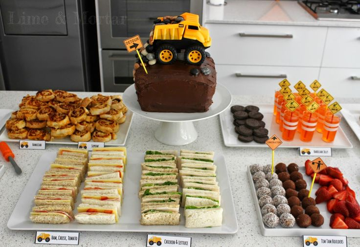 Lime & Mortar: Construction Theme Party Food