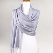 how to wear a large draping scarf