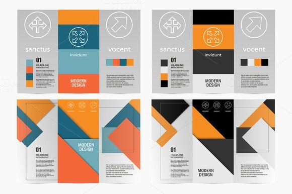 Flyer material design by Haisonok on @creativework247