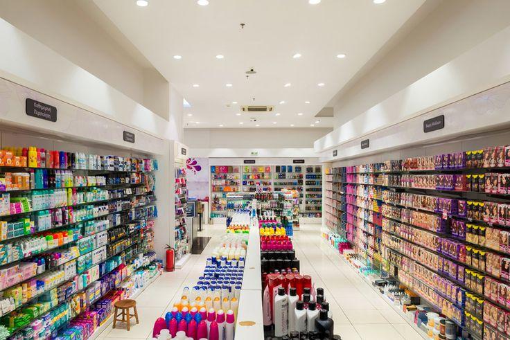 Galerie de Beaute | Cosmetics store design | The Mall | Athens | iidsk  |  Interior Design & Construction