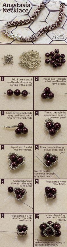 Master Tubular Netting Technique #Seed #Bead #Tutorials