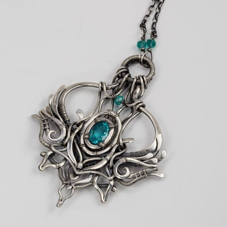 1253 best Gorgeous Wire-Work Jewelry images on Pinterest | Jewelry ...