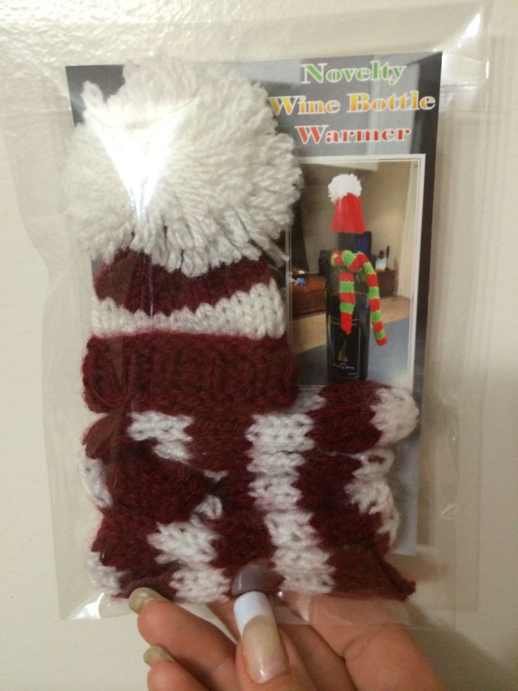 Novelty Wine Bottle Warmers also come in some NRL team colours