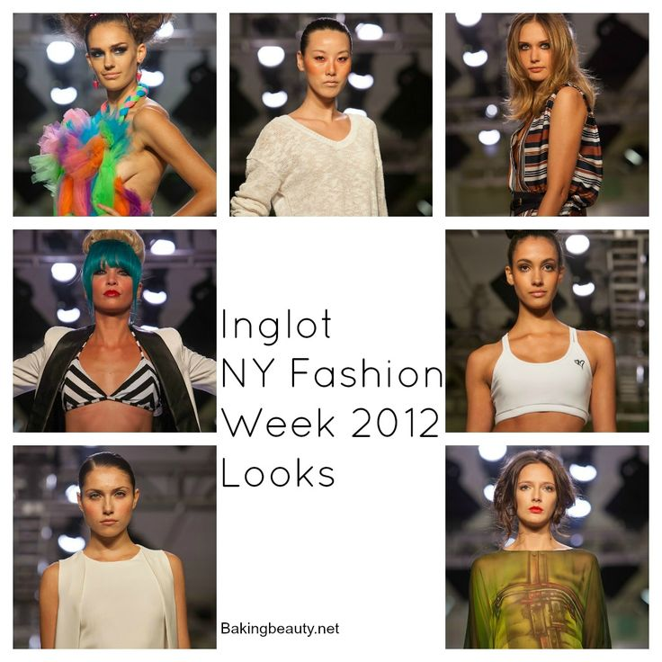 Inglot Runway Recap  Makeup looks from NYFW!