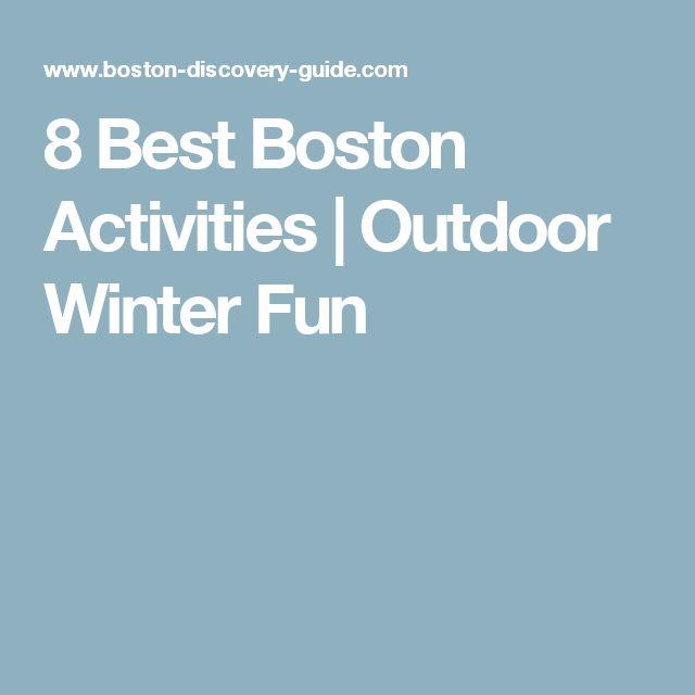 8 Best Boston Activities | Outdoor Winter Fun