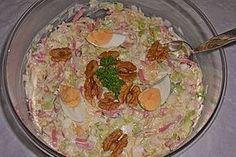 Lauchsalat mit Ananas und Ei, ein sehr leckeres Rezept aus der Kategorie Eier & Käse. Bewertungen: 2. Durchschnitt: Ø 3,3.