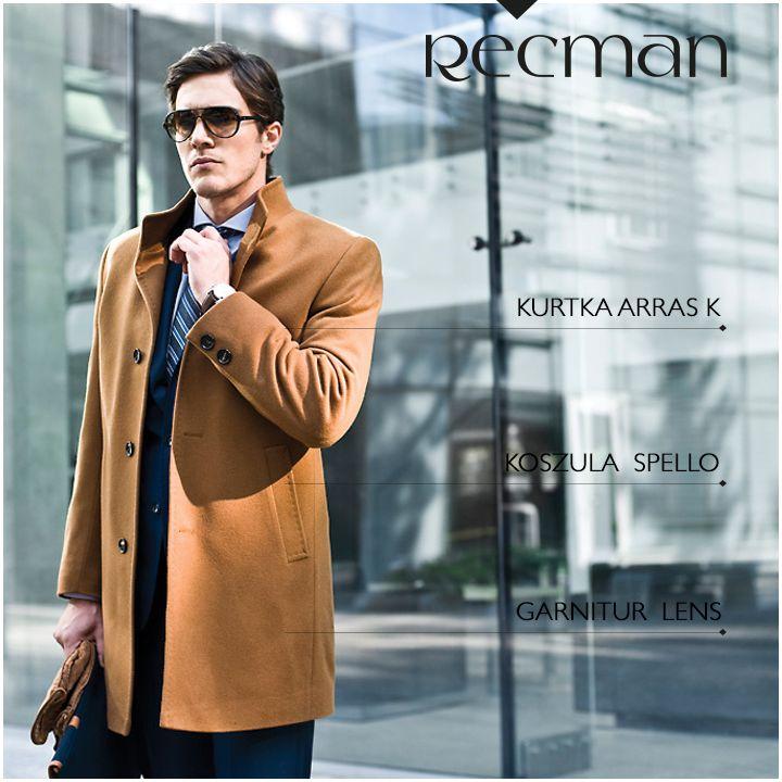 Płaszcz w kamelowym kolorze to świetne dopełnienie formalnych stylizacji. Klasyczny fason podkreśla dobry gust i elegancję. Do tego zestawu styliści Recman polecają garnitur Lens. Całość dopełnia koszula Spello. Czy podoba Wam się ten zestaw? bit.ly/Recman_ArrasKamel bit.ly/Recman_Garnitury bit.ly/Recman_KoszuleNK