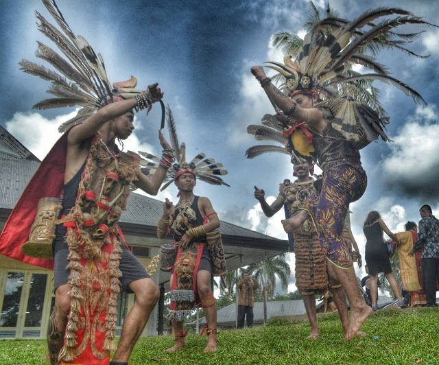 Pin On Sewa Baju Dayak Kalimantan Barat