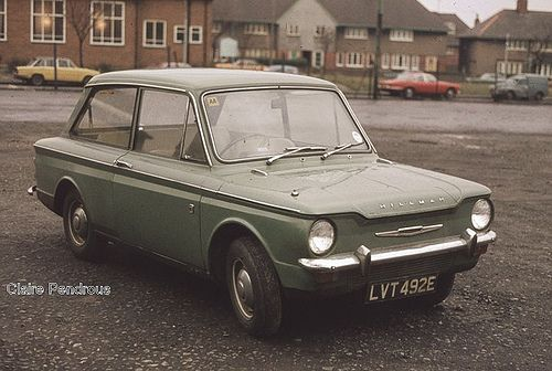 Hillman Imp.  This was mum's car when I was little.