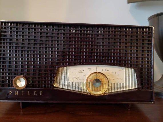 Bluetooth Speaker 1950s Philco Radio Conversion Bluetooth Speaker