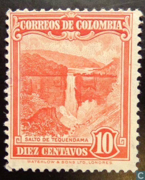Colombia - Cascada 1948
