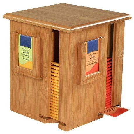 Коробка для чая Kesper 4 отделения вращающаяся от производителя Kesper