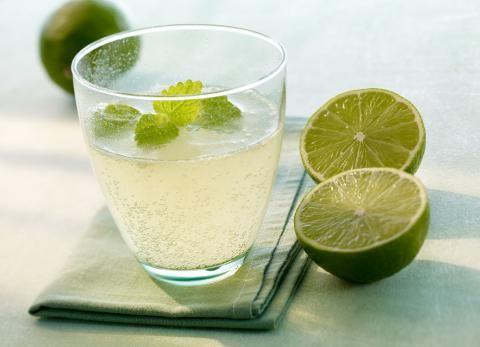 Mineralwasser-Cocktail: Grüner Buddha - [ESSEN UND TRINKEN]