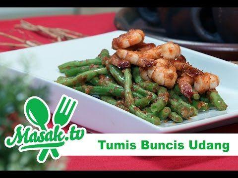 Indisch eten!: Tumis van boontjes met garnalen