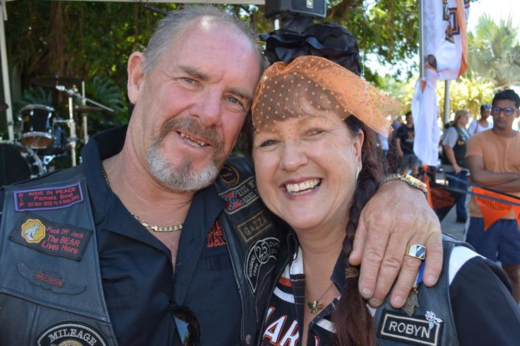 Robyn and Gary Howard get hitched at the 2014 Australian HOG Rally in Cairns. Read all about it at http://motorbikewriter.com/hog-rally-success-story/