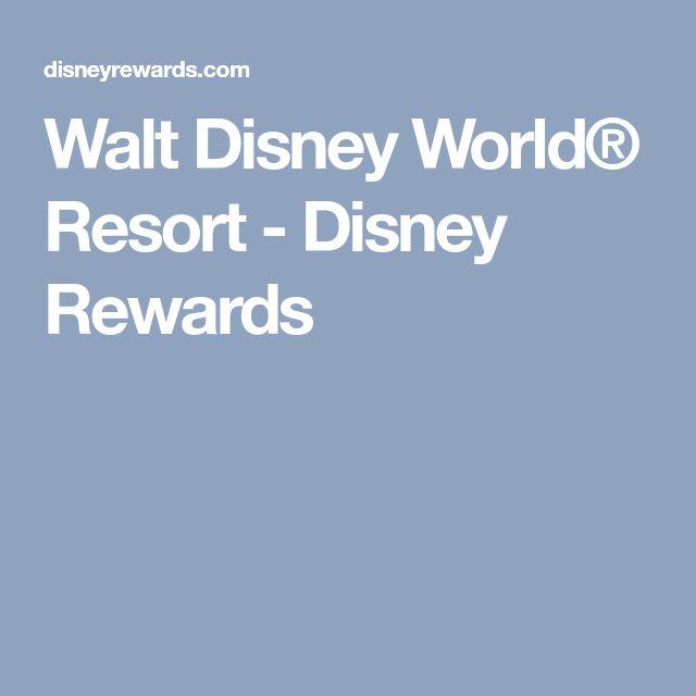 Walt Disney World® Resort - Disney Rewards