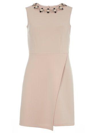 Petite Embellished Dress
