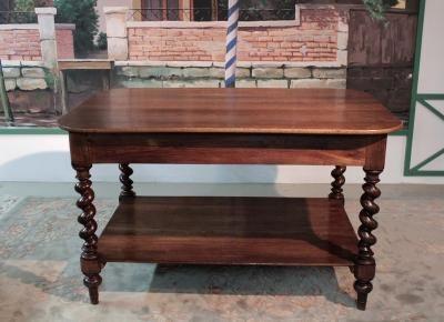 Table de Drapier en Chêne goût Louis XIII XXeme