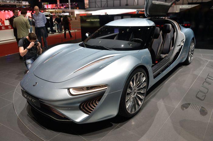 nanoFlowcell Quant e-Sportlimousine - автомобиль будущего.