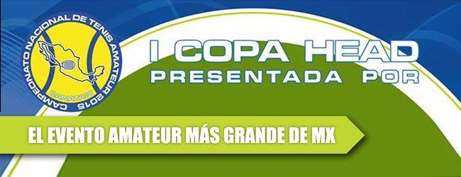 """Cuatro millones de pesos invertirá HEAD en organizar lo que su director general, Rodrigo García llama """"El evento más grande de México en la historia del tenis amateur"""", la I Copa Head."""