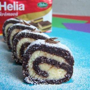 Kokosová roláda | recepty pečení | koláče, zákusky, dorty | najpečenie.sk
