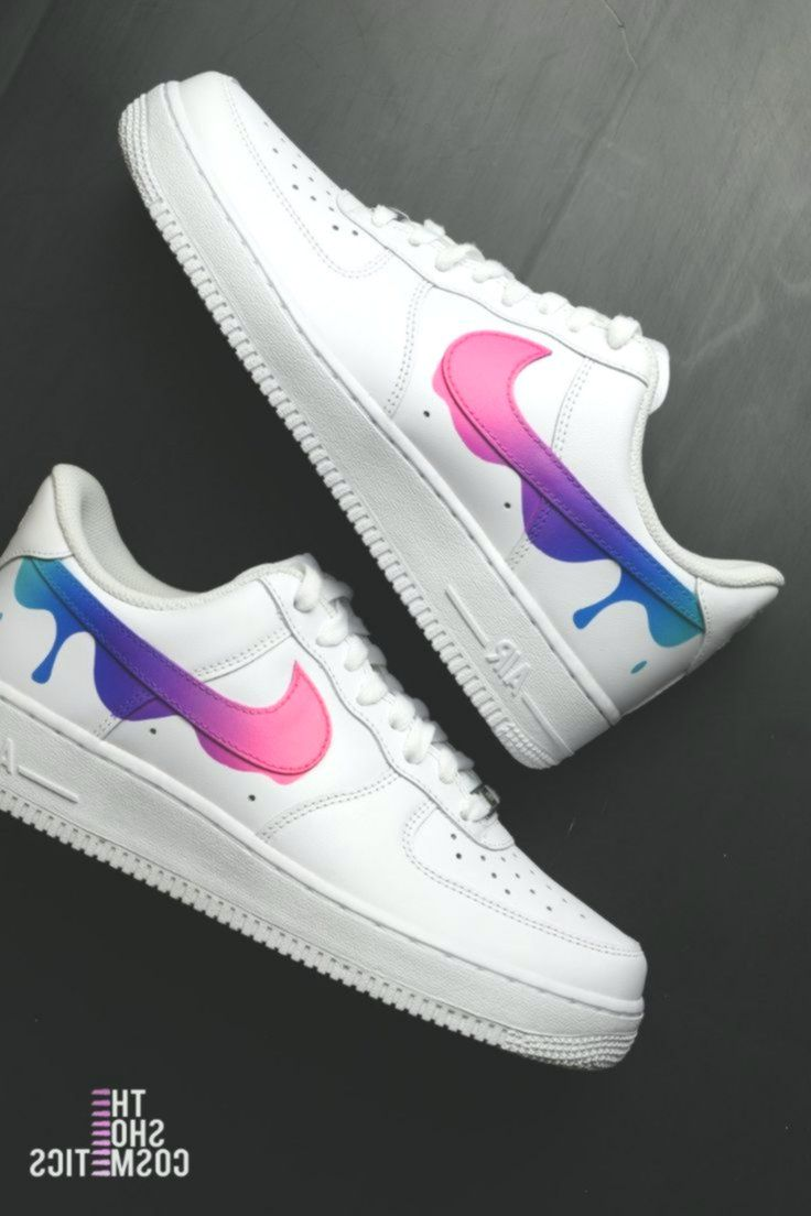 Drip Tick Nike Air Pressure 1 Customized Sneakers #custom