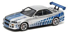 1/43 Die Cast Model 2Fast, 2Furious (1999) Nissan Skyline GT-R Silver by Greenlight Collectables http://www.amazon.com/dp/B00QJ31T3Y/ref=cm_sw_r_pi_dp_Tahivb149CK13